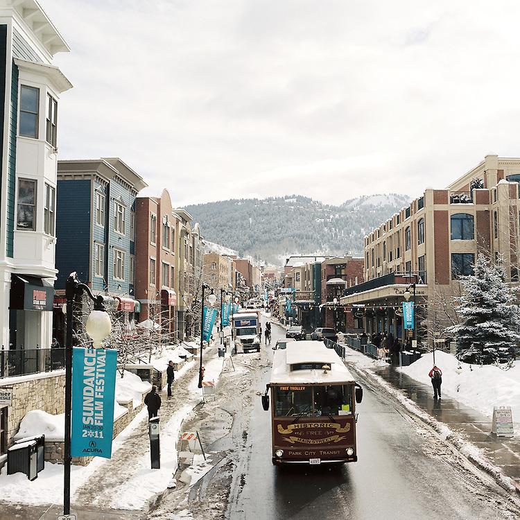Park City, Utah during the Sundance Film Festival. 2011