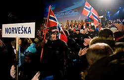 Roar LJOEKELSOEY of Norway during Opening ceremony in the evening of 1st day of FIS Ski Flying World Championships Planica 2010, on March 18, 2010, Planica, Slovenia.  (Photo by Vid Ponikvar / Sportida)