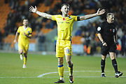 Bristol Rovers Midfielder, Ollie Clarke (8) scores to make it 0-3 goal celebration  during the EFL Sky Bet League 1 match between Blackpool and Bristol Rovers at Bloomfield Road, Blackpool, England on 3 November 2018.
