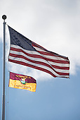 USA - NU Flag over UP