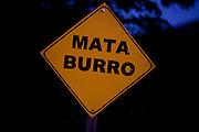 Capitolio_MG, Brasil...Detalhe de uma placa em Capitolio...A sign detail in Capitolio...Foto: LEO DRUMOND / NITRO