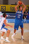 DESCRIZIONE : Bormio Raduno Collegiale Nazionale Maschile Amichevole Italia Israele <br /> GIOCATORE : Tommaso Fantoni <br /> SQUADRA : Nazionale Italia Uomini Italy <br /> EVENTO : Raduno Collegiale Nazionale Maschile <br /> GARA : Italia Israele Italy Israel <br /> DATA : 27/07/2008 <br /> CATEGORIA : Passaggio <br /> SPORT : Pallacanestro <br /> AUTORE : Agenzia Ciamillo-Castoria/S.Silvestri <br /> Galleria : Fip Nazionali 2008 <br /> Fotonotizia : Bormio Raduno Collegiale Nazionale Maschile Amichevole Italia Israele  <br /> Predefinita :