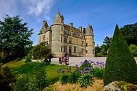 France, Manche (50), Cherbourg-Octeville, parc du chateau des Ravalet // France, Normandy, Manche department, Cherbourg-Octeville, Ravalet castle