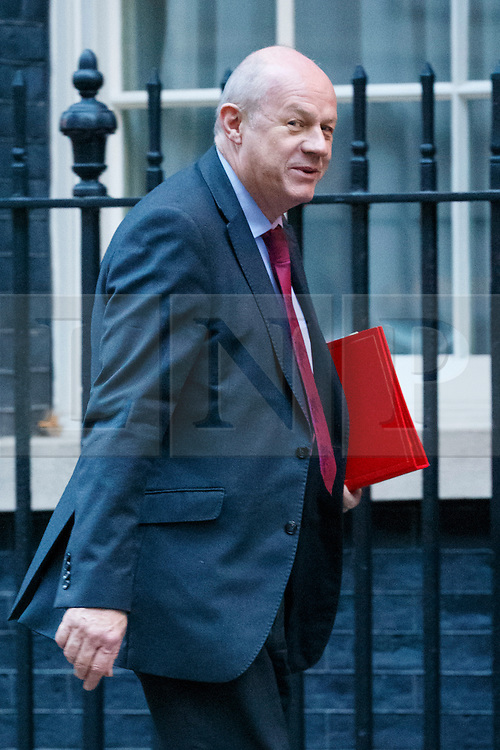 © Licensed to London News Pictures. 23/11/2016. London, UK. Work and Pensions Secretary DAMIAN GREEN attends a cabinet meeting in Downing Street before the autumn statement announment on Wednesday, 23 November 2016. Photo credit: Tolga Akmen/LNP