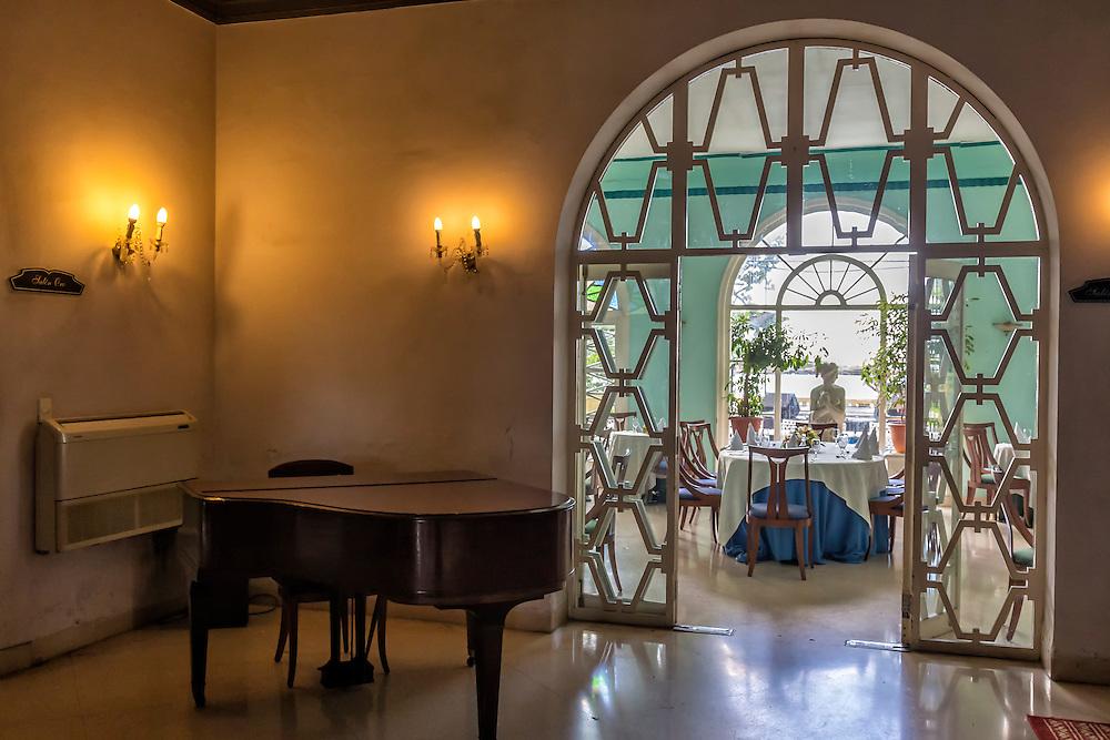 Restaurante 1830, Havana Vedado, Cuba.