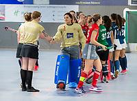 HAMBURG  (Ger) - Match 19,  for bronze , Der Club an der Alster (Ger) - Club Campo de Madrid (Esp) (7-0)  Photo: goalkeeper Helen Heitmann (Alster). Club Cup 2019 Women . WORLDSPORTPICS COPYRIGHT  KOEN SUYK