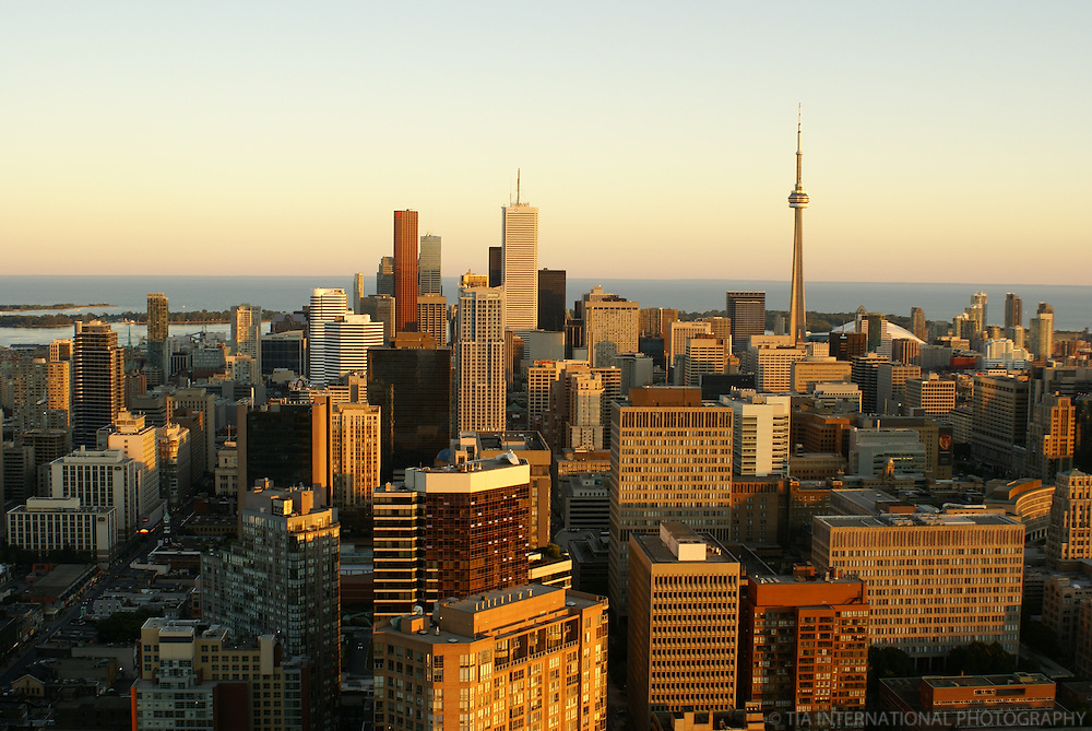 Toronto Skyline @ Sunset