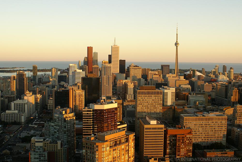 Toronto Skyline @ Sunset