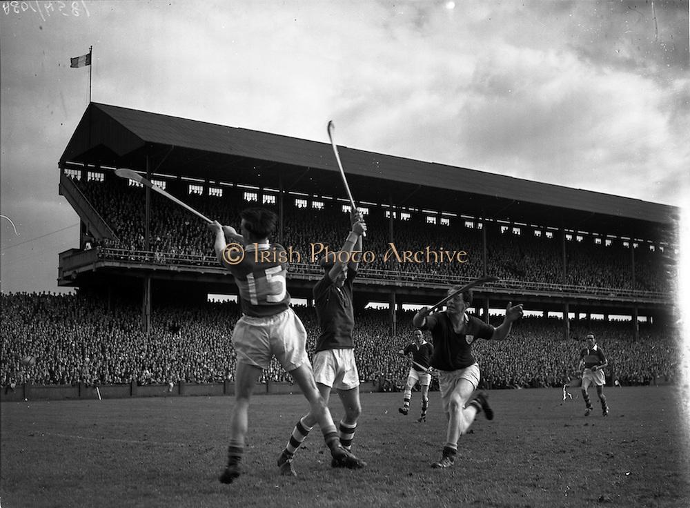 07/09/1958<br /> 09/07/1958<br /> 7 September 1958<br /> All-Ireland Senior Final: Galway v Tipperary at Croke Park, Dublin.
