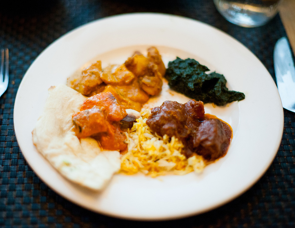 Family style lunch at Bhatti Indian Grill (P$FREE) - Dev Lunch