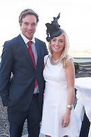 07/07/2014 repro free 1st use. Philip Black and Edel Ramberg at the launch of the Galway Races 7 day racing Summer Festival at the Radisson blu Hotel Galway. Photo:Andrew Downes