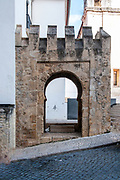 Remains of an ancient gateway, University hill, Coimbra, Portugal
