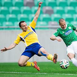20140423: SLO, Football - Prva liga Telekom Slovenije, NK Olimpija Ljubljana vs FC Luka Koper