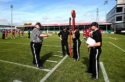 Referees for the BAFA Britbowl National League Finals 2017 - Mandatory by-line: Robbie Stephenson/JMP - 26/08/2017 - AMERICAN FOOTBALL - Sixways Stadium - Worcester, England - East Kilbride Pirates v London Blitz - BAFA Britbowl National League Finals 2017