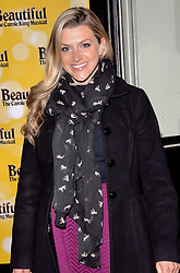 Anna Williamson attends Beautiful - The Carole King Musical at The Aldwych Theatre, The Aldwych, London on Tuesday 24 February 2015 February 2015