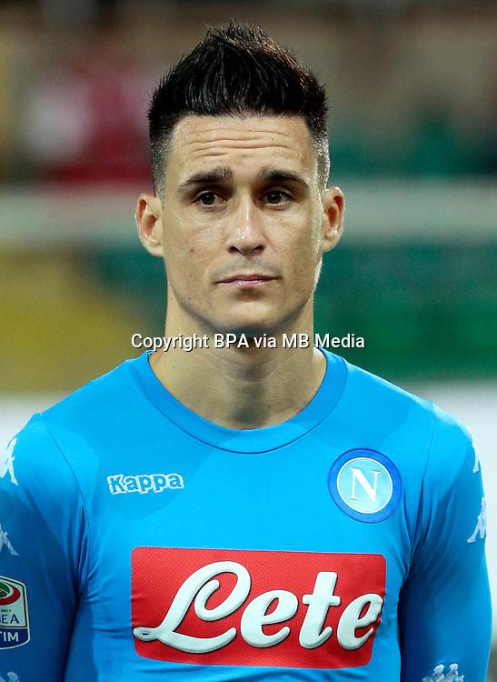Italian League Serie A -2016-2017 / <br /> ( Ssc Napoli ) - <br /> Jose Maria Callejon Bueno &quot; Jose Callejon &quot;