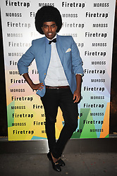 PRINCE CASSIUS at a party to celebrate the Firetrap Watches and Kate Moross Collaboration Launch, held at Firetrap, 21 Earlham Street, London, UK on 13th October 2010.