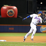 NEW YORK, NEW YORK - July 08: Asdrubal Cabrera #13 of the New York Mets rounds the bases after hitting a home run during the Washington Nationals Vs New York Mets regular season MLB game at Citi Field on July 08, 2016 in New York City. (Photo by Tim Clayton/Corbis via Getty Images)
