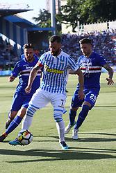 """Foto /Filippo Rubin<br /> 20/05/2018 Ferrara (Italia)<br /> Sport Calcio<br /> Spal - Sampdoria - Campionato di calcio Serie A 2017/2018 - Stadio """"Paolo Mazza""""<br /> Nella foto: MIRCO ANTENUCCI (SPAL)<br /> <br /> Photo /Filippo Rubin<br /> May 20, 2018 Ferrara (Italy)<br /> Sport Soccer<br /> Spal vs Sampdoria - Italian Football Championship League A 2017/2018 - """"Paolo Mazza"""" Stadium <br /> In the pic: MIRCO ANTENUCCI (SPAL)"""