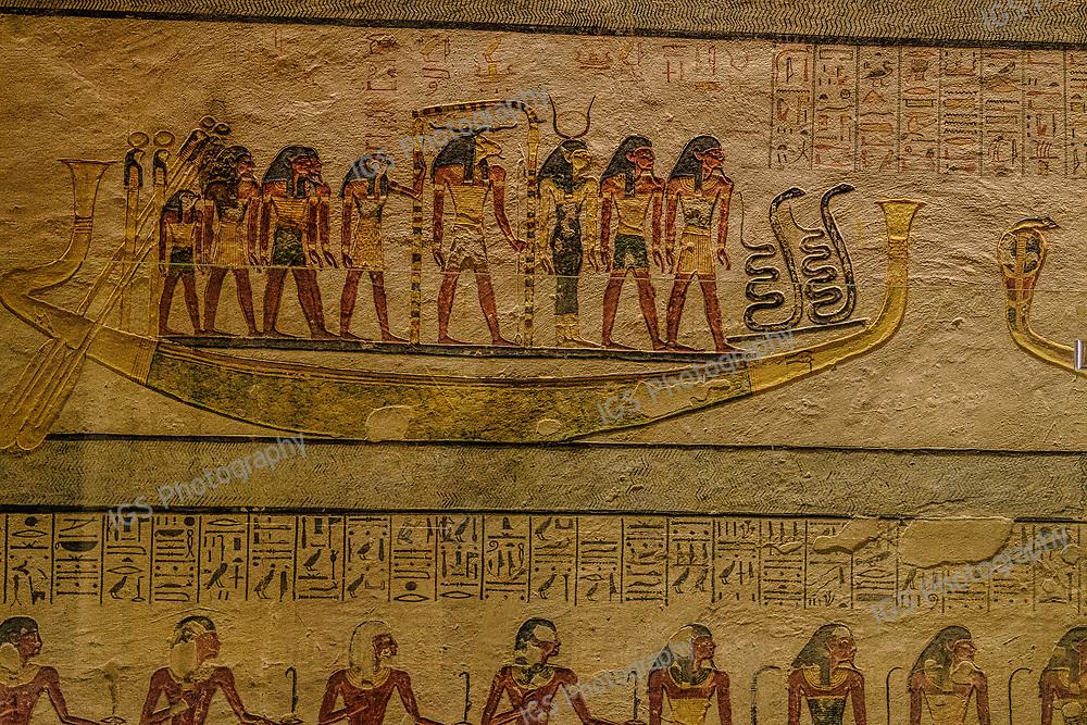 KV 6, Rameses IX burial chamber - Valley of the KIngs, Egypt