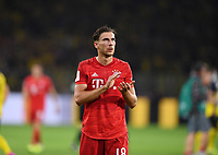 FUSSBALL 1. BUNDESLIGA   SAISON 2019/2020   SUPERCUP FINALE Borussia Dortmund - FC Bayern Muenchen    03.08.2019 Enttaeuschung FC Bayern Muenchen; Leon Goretzka DFL regulations prohibit any use of photographs as image sequences and/or quasi-video.