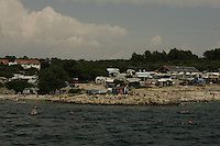 beach of Penat.. Krk Island, Croatia..2005