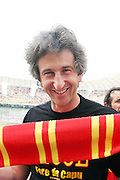 Foto di Donato Fasano - LaPresse.15  05  2011  Bari ( Italia ).Sport Calcio.AS Bari -  Us Lecce   TIM Serie A 2010  2011 - Stadio San Nicola Bari.Nella foto: paolo perrone sindaco di lecce .Photo Donato Fasano - LaPresse.15  05  2011 Bari ( Italy ).Sport Soccer.AS Bari  - Us Lecce Serie  A Soccer League 2010 2011- San Nicola Stadium Bari.In the Photo: paolo perrone sindaco di lecce