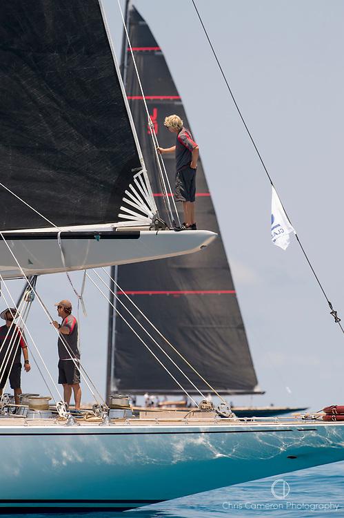 Bermuda, 16th June 2017. America's Cup J Class regatta. Ranger J5.