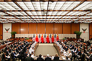 U.S. Deputy Secretary of State William Burns and China's State Councilor Yang Jiechi participate in the Strategic Track Plenary Session of the U.S.-China Strategic and Economic Dialogue (S&ED) at the State Department in Washington.