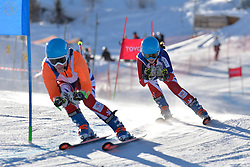 FITZPATRICK Menna Guide: KEHOE Jennifer, B2, GBR at 2018 World Para Alpine Skiing World Cup, Veysonnaz, Switzerland