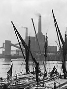 Battersea Power Station, London, England, 1934