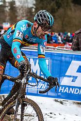 Rob Peeters (BEL), Men Elite, Cyclo-cross World Championship Tabor, Czech Republic, 1 February 2015, Photo by Pim Nijland / PelotonPhotos.com