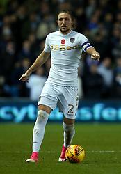Luke Ayling of Leeds United - Mandatory by-line: Robbie Stephenson/JMP - 31/10/2017 - FOOTBALL - Elland Road - Leeds, England - Leeds United v Derby County - Sky Bet Championship