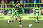 Forest Green Rovers Reuben Reid(26) runs forward during the EFL Sky Bet League 2 match between Forest Green Rovers and Notts County at the New Lawn, Forest Green, United Kingdom on 10 March 2018. Picture by Shane Healey.