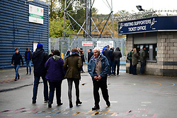 Fans arrive at The Den ahead of the Sky Bet League One game between Millwall v Bristol Rovers  - Mandatory by-line: Dougie Allward/JMP - 12/11/2016 - FOOTBALL - The Den - London, England - Millwall v Bristol Rovers - Sky Bet League One