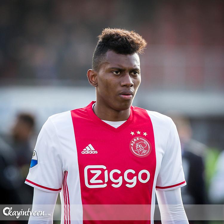 ROTTERDAM - Excelsior - Ajax , Voetbal , Seizoen 2016/2017 , Eredivisie , Stadion Woudestein , 19-03-2017 , Ajax speler Mateo Cassierra is teleurgesteld na de 1-1