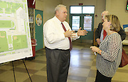 The Lamar High School community gathers Tuesday for the school's final bond community meeting on plans for the new school.