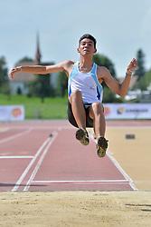 03/08/2017; del Valle, Alan, F20, ARG at 2017 World Para Athletics Junior Championships, Nottwil, Switzerland