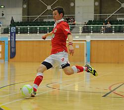 Bristol City Futsal in action against Gloucester University. - Photo mandatory by-line: Nizaam Jones - Mobile: 07583 387221 - 02/11/2014 - SPORT - Futsal - Gloucester - Gloucester University - v BCFC Futsal- Sport