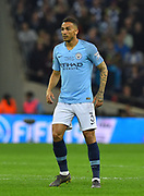 Danilo (3) of Manchester City during the Carabao Cup Final match between Chelsea and Manchester City at Wembley Stadium, London, England on 24 February 2019.