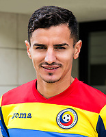 Uefa - World Cup Fifa Russia 2018 Qualifier / <br /> Romania National Team - Preview Set - <br /> Romario Sandu Benzar