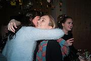 KATIE ROBERTSON-MACLEOD; PANDORA MCCORMICK; , Fashion and Gardens, The Garden Museum, Lambeth Palace Rd. SE!. 6 February 2014.