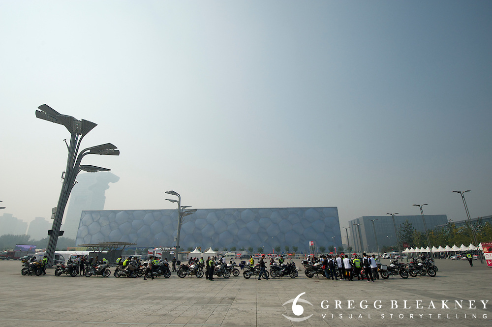 The police moto-brigade - 2011 Tour of Beijing, Stage 1 ITT