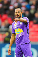 Cedric KANTE  - 20.12.2014 - Brest / Ajaccio - 18eme journee de Ligue 2 <br /> Photo : Vincent Michel / Icon Sport