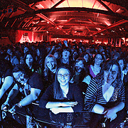 """Fans cheer as Lifehouse performs on March 5, 2011 in support of """"Smoke and Mirrors""""at the Showbox Sodo in Seattle, Washington"""