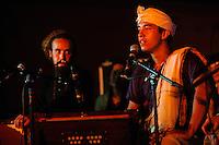 Kirtaniyas Bass Mantras performing at Bali Spirit Festival, Arma, Ubud, Bali, Indonesia, 19/03/2014.