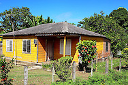 House in the Jamal area, Guantanamo, Cuba.
