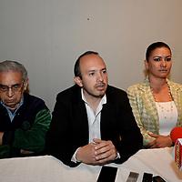 """TOLUCA, México.- (Noviembre 21, 2017).- En conferencia de prensa fueron informados los pormenores de la Convención de Comics Cosplay """"Card Capital Fest"""" que se realizara el próximo 25 y 26 de noviembre en la ciudad de Toluca. Agencia MVT / Crisanta Espinosa."""