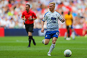 Tranmere Rovers midfielder David Perkins (17) during the EFL Sky Bet League 2 Play Off Final match between Newport County and Tranmere Rovers at Wembley Stadium, London, England on 25 May 2019.