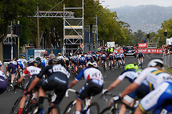 Trek Segafredo protecting Ruth Winder (USA) at the front during Stage 4 of 2020 Santos Women's Tour Down Under, a 42.5 km road race in Adelaide, Australia on January 19, 2020. Photo by Sean Robinson/velofocus.com